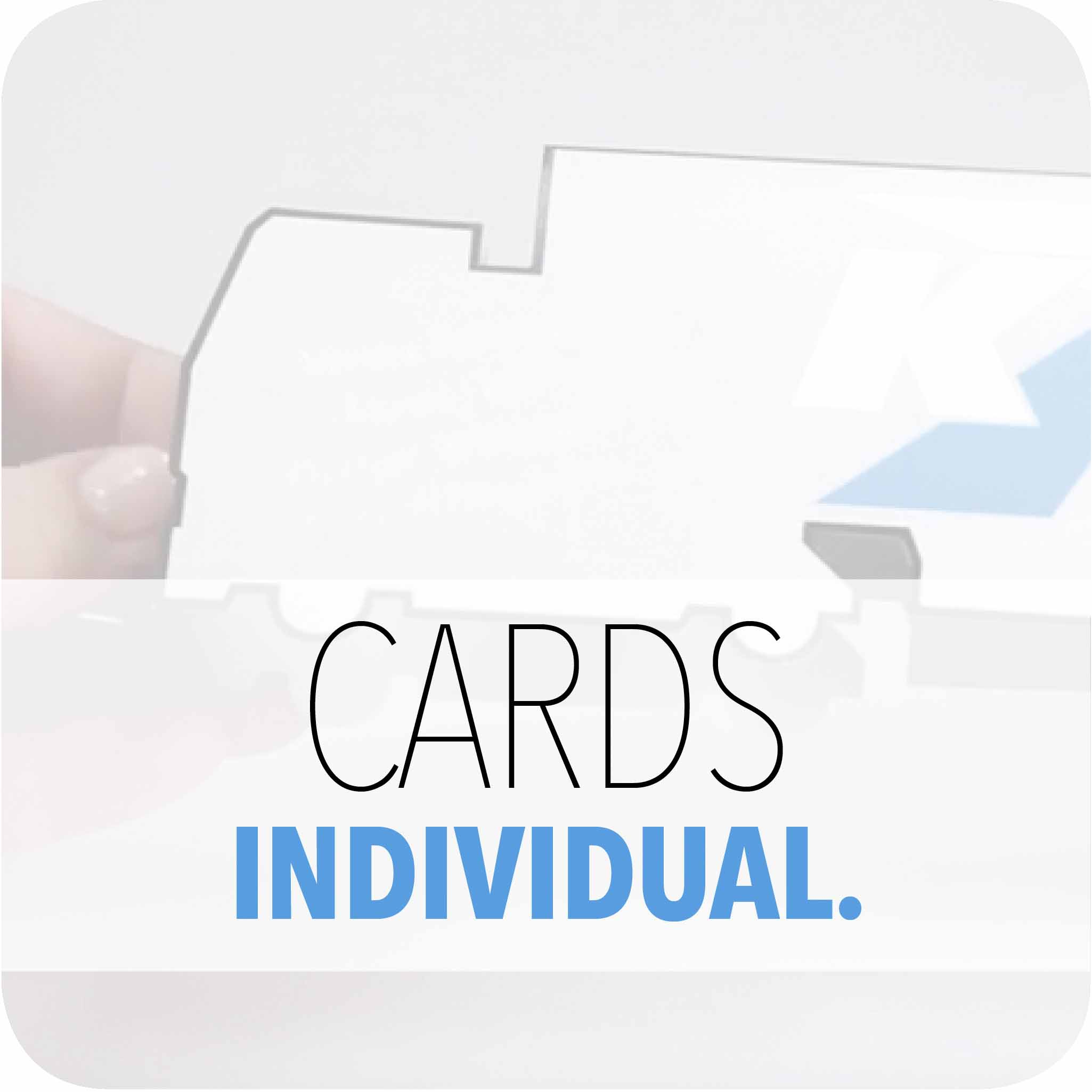CARDS INDIVIDUAL