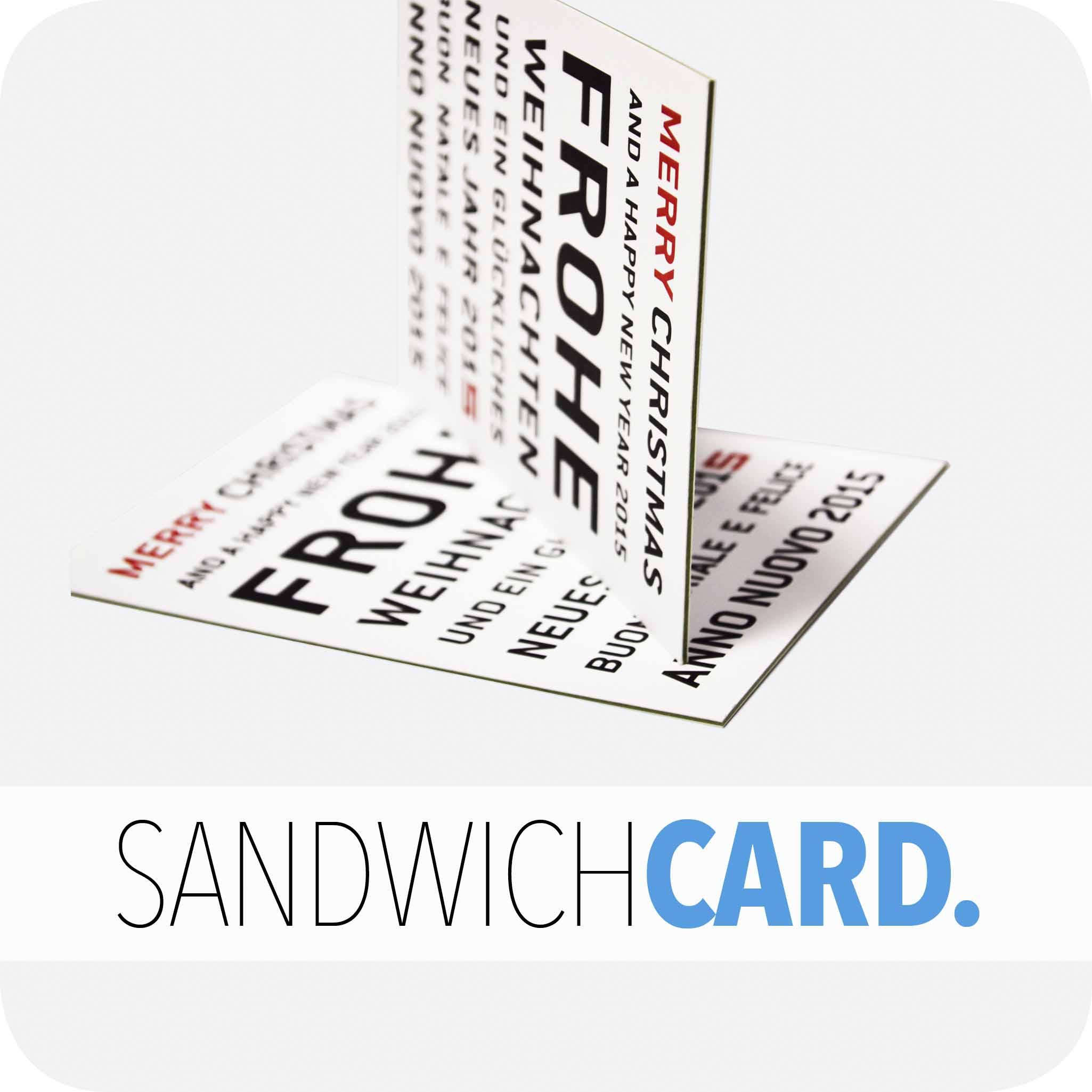 Sandwichcard