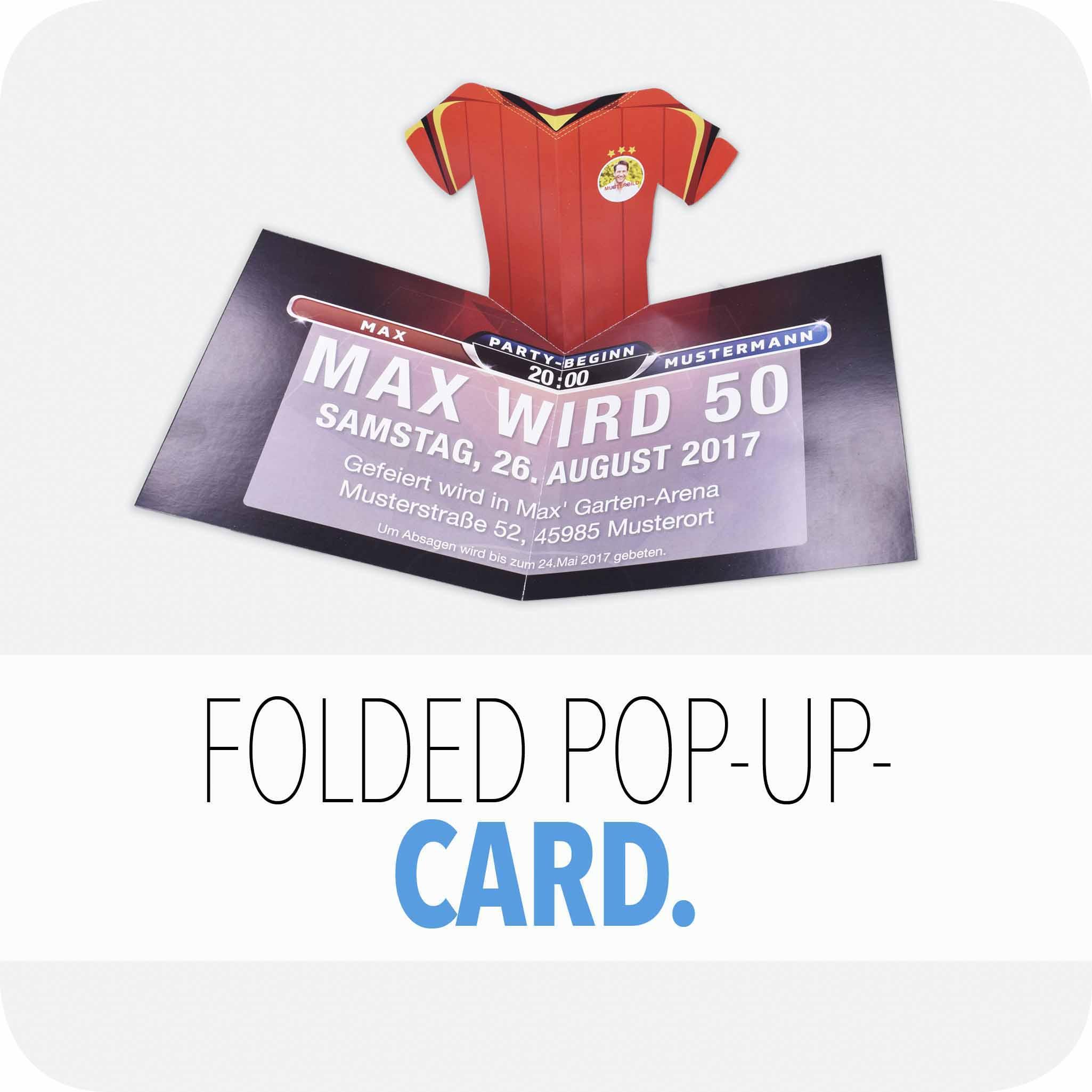 Fold-pop-up card