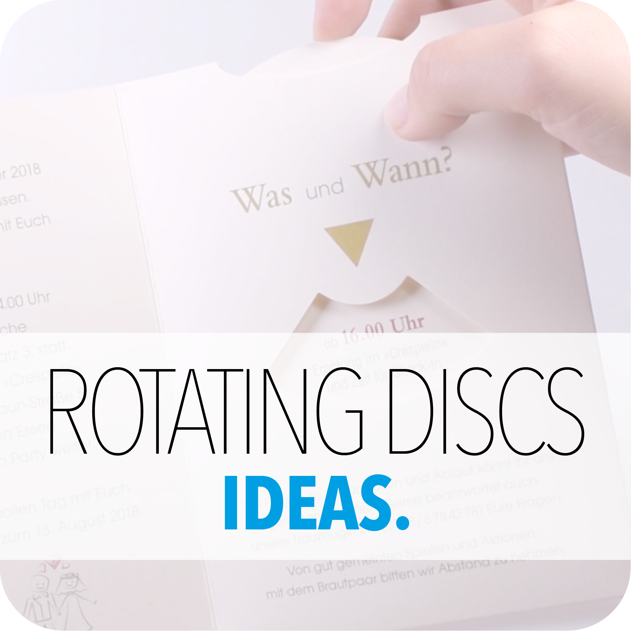 ROTATING DISCS IDEAS