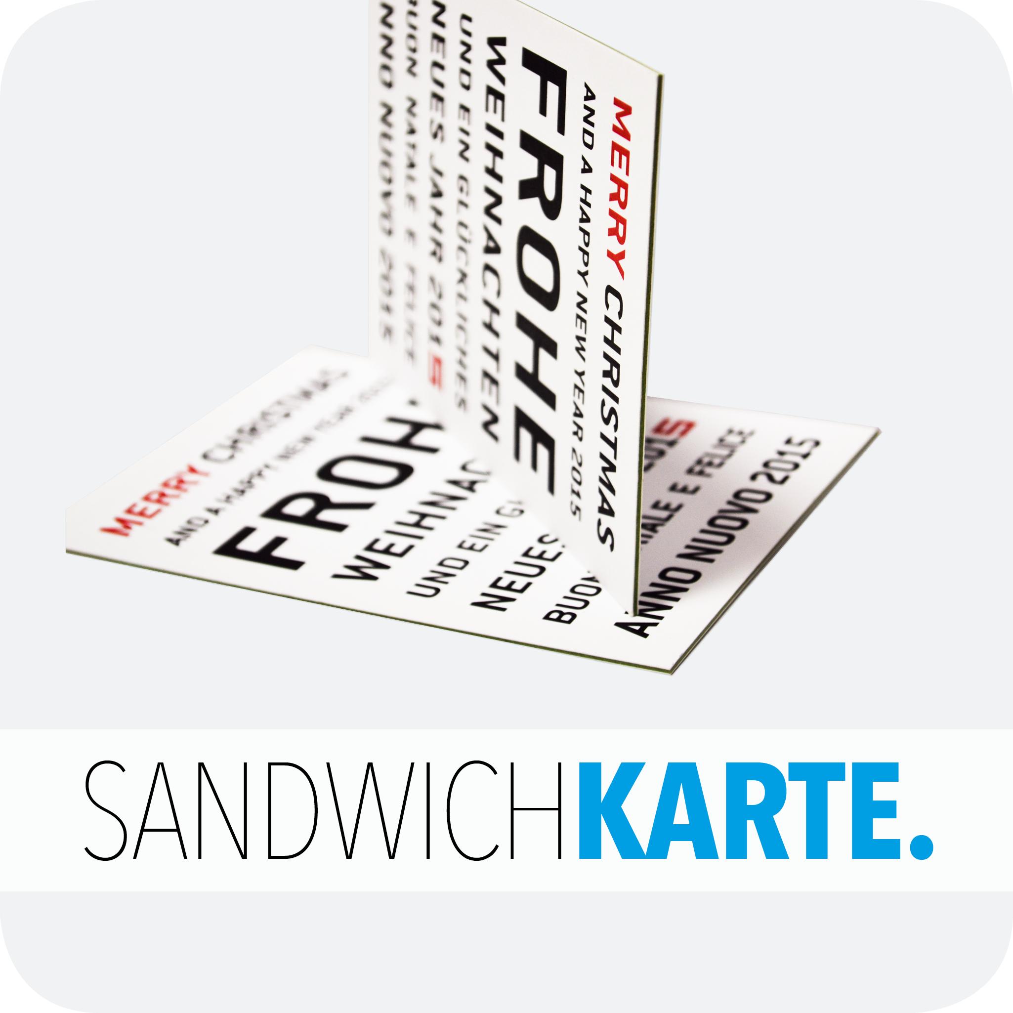 Sandwichkarte