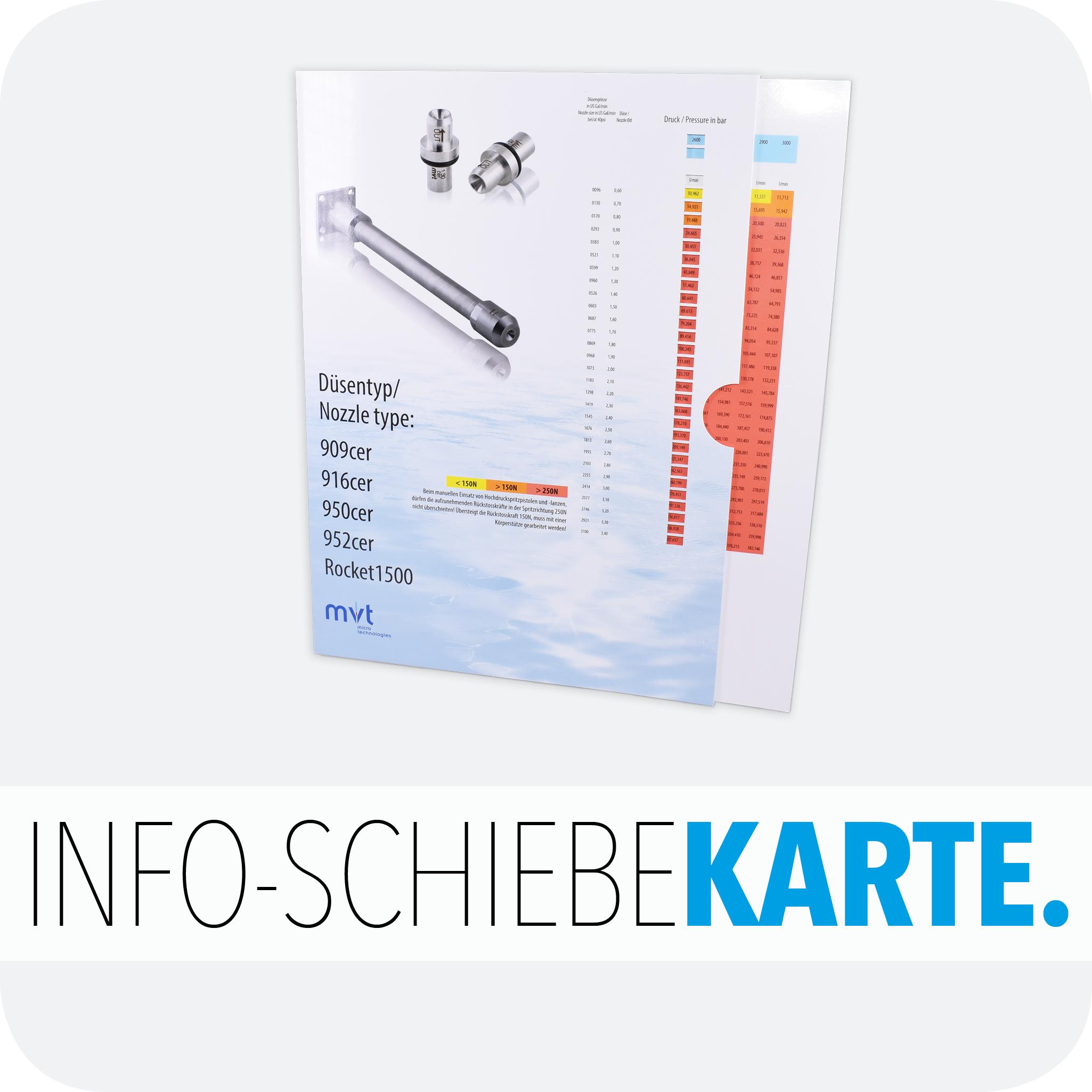 Info-Schiebekarte