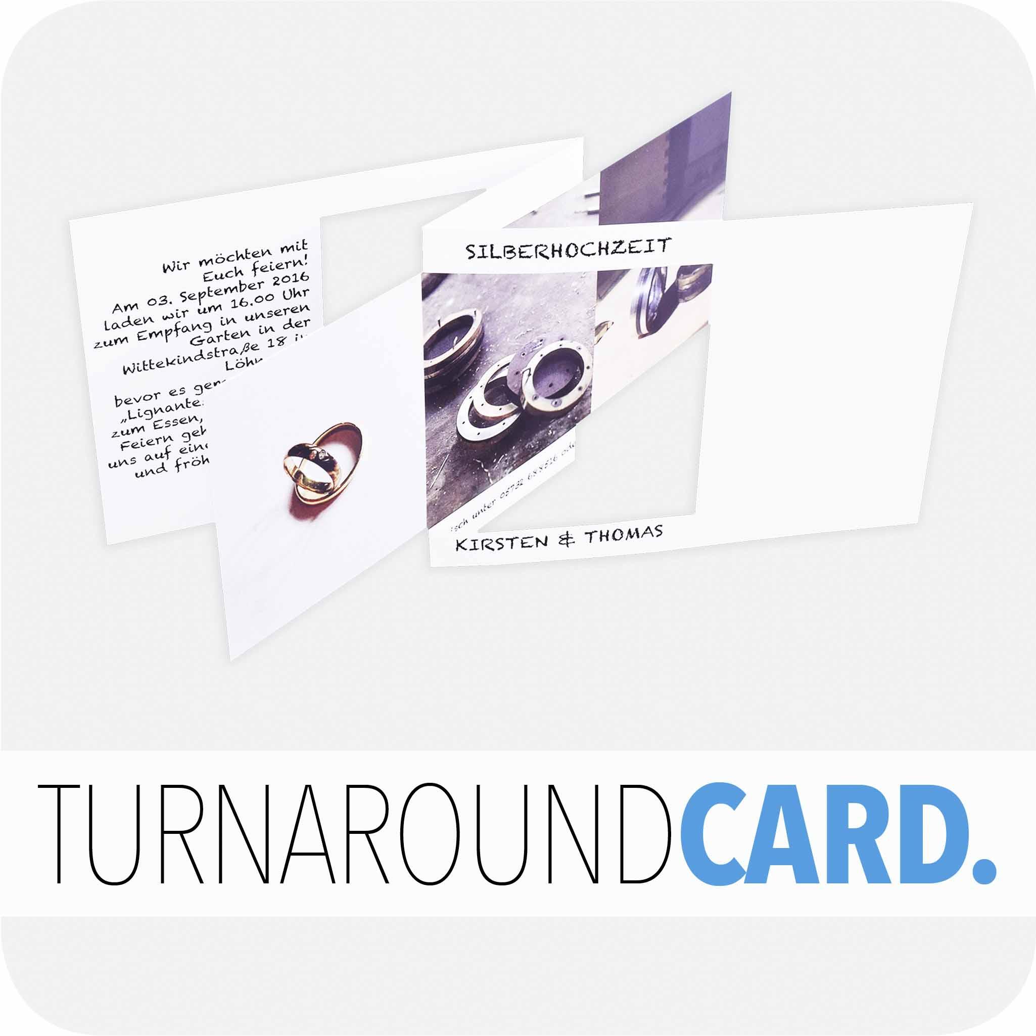 Turnaround card